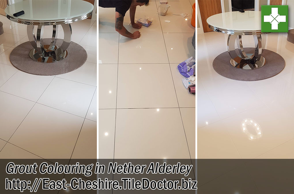 Porcelain-Tiled-Floor-Before-After-Grout-Colouring-Nether-Alderley