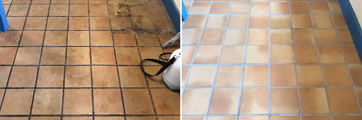 Terracotta-Effect-Porcelain-Tile-Grout-Before-After-Cleaning-Ely-1