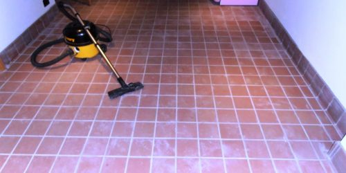 Grout Haze Removal