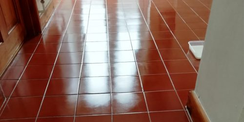 Grout Sealing and Protection